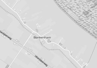 Kaartweergave van Hoorn in Blankenham