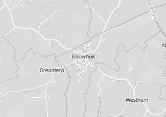 Kaartweergave van Post nl in Blauwhuis