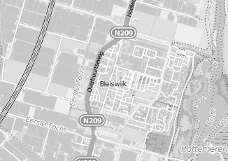 Kaartweergave van Meer in Bleiswijk