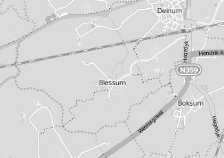 Kaartweergave van Milieustraat in Blessum