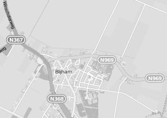 Kaartweergave van Laan in Blijham
