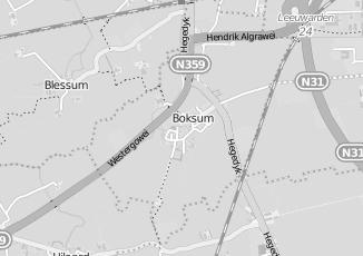 Kaartweergave van Dorpshuis in Boksum