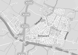 Kaartweergave van Boschma in Bolsward