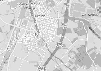 Kaartweergave van Bruijn in Born