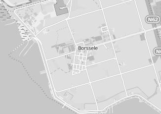 Kaartweergave van Krijger in Borssele
