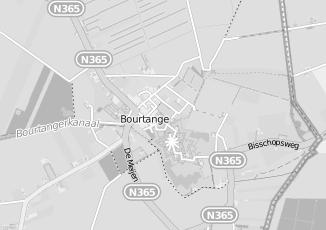 Kaartweergave van Arnoldus in Bourtange