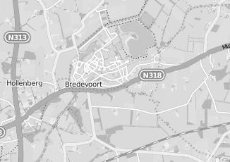 Kaartweergave van Bollen in Bredevoort
