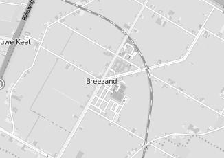 Kaartweergave van Bank in Breezand
