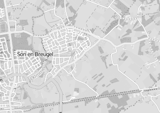 Kaartweergave van Hazenberg in Breugel