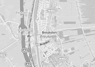 Kaartweergave van Brouwer in Breukelen
