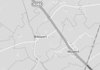 Kaartweergave van Kaaswinkel in Britswert