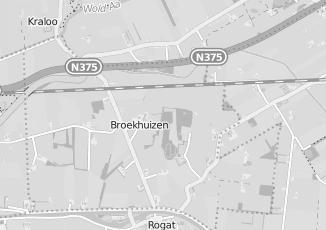 Kaartweergave van Fietsenwinkel in Broekhuizen Drenthe