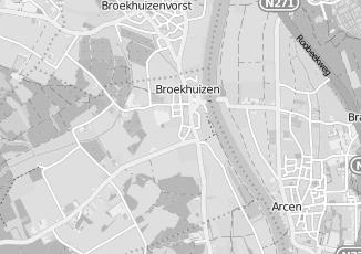 Kaartweergave van Loonen in Broekhuizen Limburg