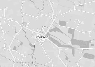 Kaartweergave van Bruggeman in Broekland