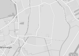Kaartweergave van Milieustraat in Bronnegerveen