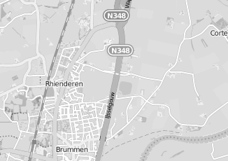 Kaartweergave van Braak in Brummen