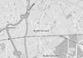 Kaartweergave van Kuppens in Budel Schoot