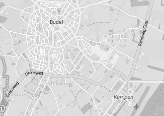Kaartweergave van Dungen in Budel