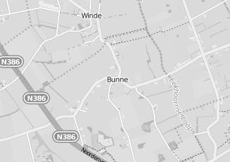 Kaartweergave van Vakantiexperts in Bunne