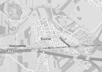Kaartweergave van Bakker in Bunnik
