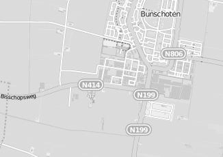 Kaartweergave van Telefoonnummer gemeentehuis in Bunschoten