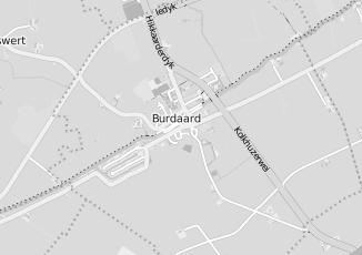 Kaartweergave van Kingma in Burdaard