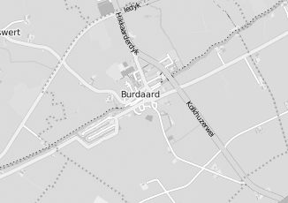 Kaartweergave van Jellema in Burdaard