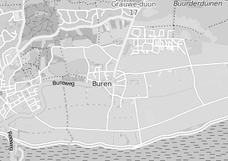 Kaartweergave van Jong in Buren Friesland