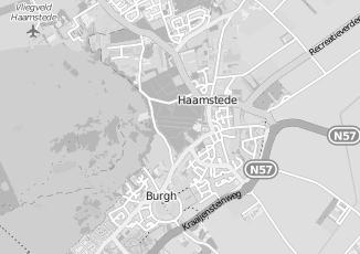 Kaartweergave van Kort in Burgh Haamstede