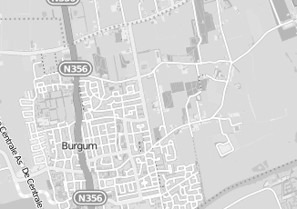 Kaartweergave van Hogeveen in Burgum