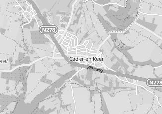 Kaartweergave van Delissen in Cadier En Keer