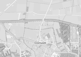 Kaartweergave van Verhuur in Cromvoirt