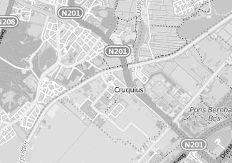 Kaartweergave van Verzorgingshuis in Cruquius