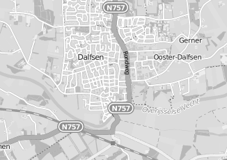 Kaartweergave van Koedijk in Dalfsen
