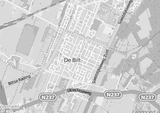 Kaartweergave van Christiaanse in De Bilt