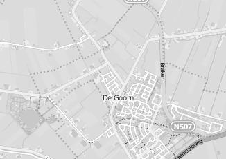 Kaartweergave van Laan in De Goorn