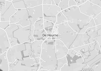 Kaartweergave van Meinen in De Heurne