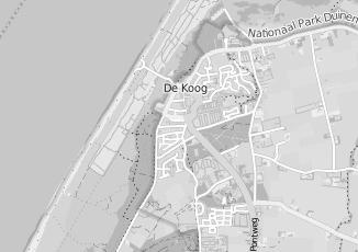 Kaartweergave van Brammetje texel in De Koog