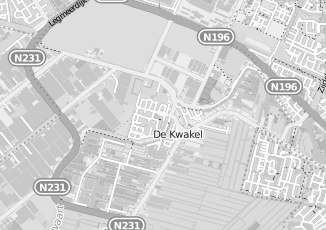Kaartweergave van Meijer in De Kwakel