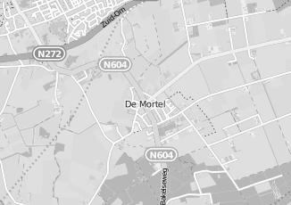 Kaartweergave van Gerrits in De Mortel