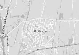 Kaartweergave van Boorsma in De Westereen