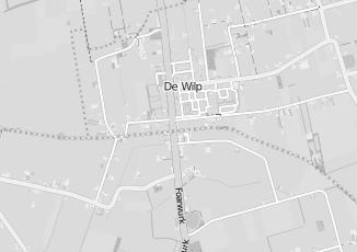 Kaartweergave van Albert heijn in De Wilp