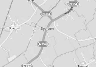 Kaartweergave van Loopbaanbegeleiding in Dearsum