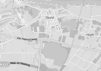 Kaartweergave van Tuinwereld in Deest