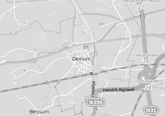 Kaartweergave van Meijer in Deinum