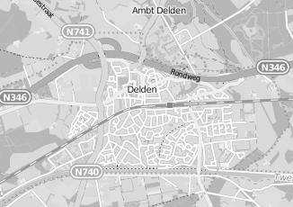 Kaartweergave van Loonbedrijven in Delden
