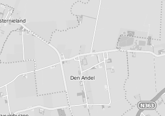 Kaartweergave van Supermarkt in Den Andel