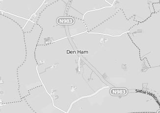 Kaartweergave van Internetverkoop in Den Ham Groningen