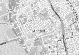 Kaartweergave van Berkhout in Den Hoorn Zuid Holland
