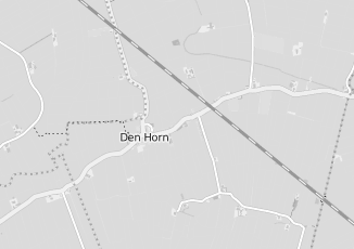 Kaartweergave van Albert heijn in Den Horn
